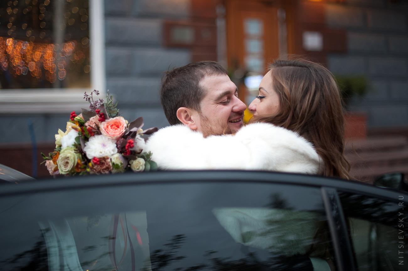 Александр и Виктория. Свадебная фотосессия в студии