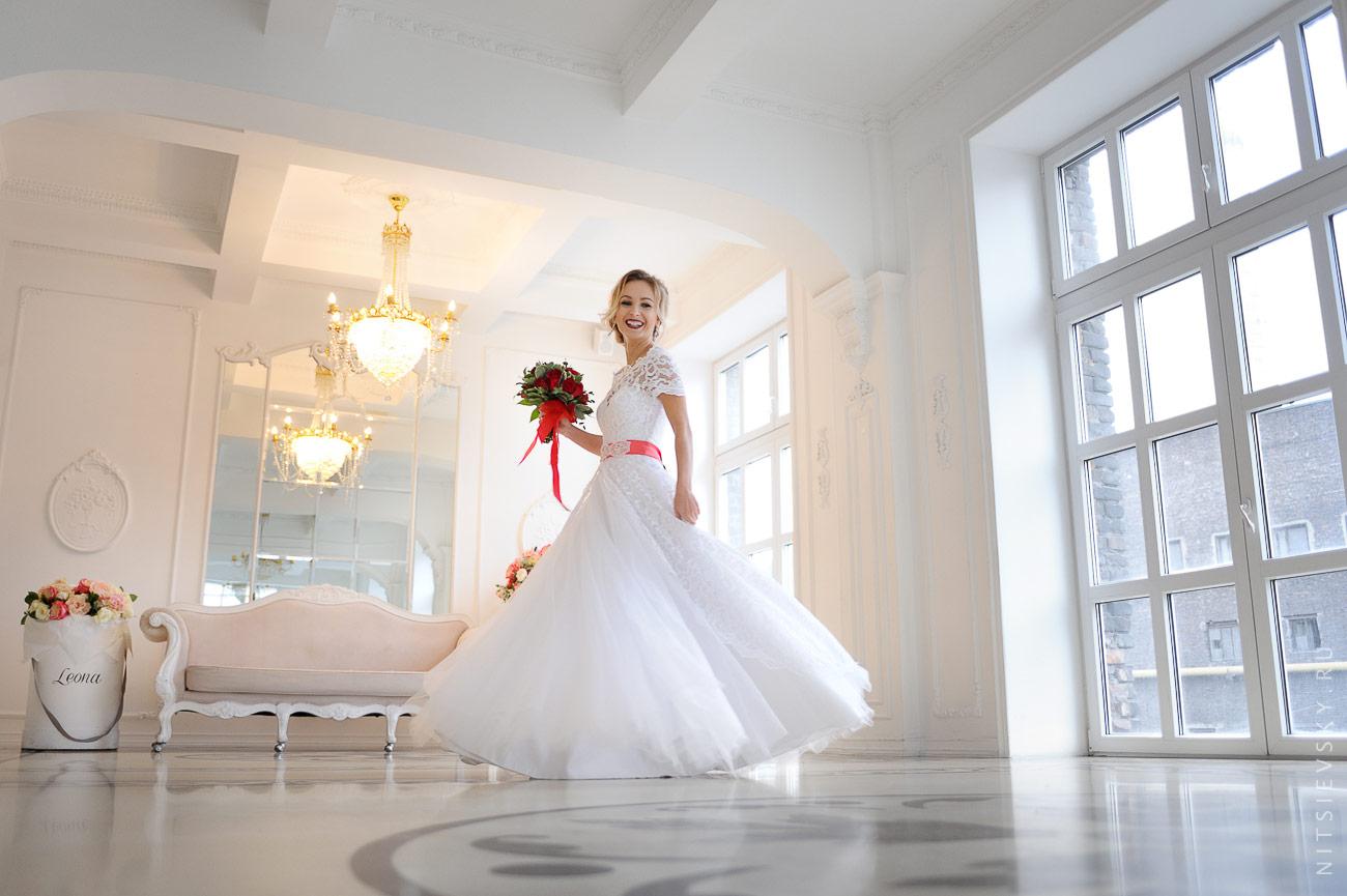 Свадебная фотосессия в студии СПб Петербург