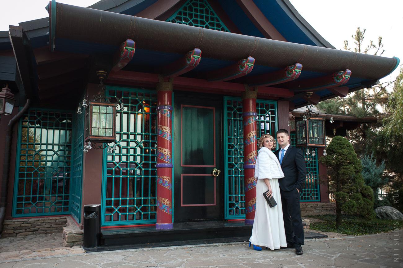 Наталья и Сергей. Фотосессии в Гедоне (Шанхай)